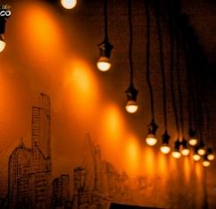 Инсталляция кафе Fresco
